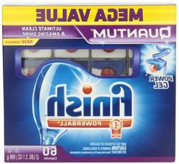 Finish Quantum Dishwasher Detergent Mega Pack, 60-Count