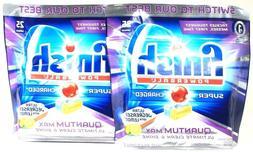 Finish Quantum Dishwasher Detergent Tablets, Lemon Sparkle S