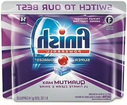 Finish Quantum Max Powerball,Dishwasher Detergent Tablets, C