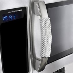 OUGAR8 Refrigerator Door Handle Covers Handmade Decor Protec