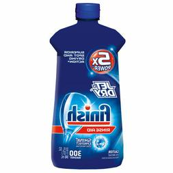 Finish Jet-Dry Rinse Aid, 32oz, Dishwasher Rinse Agent & Dry