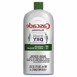 Cascade Rinse Aid Platinum, Dishwasher Rinse Agent, Regular