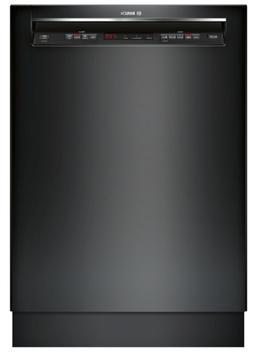 Bosch SHE863WF6N 300 44-Decibel Built-In Dishwasher in Black