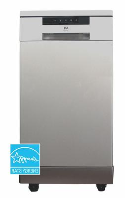 "Sunpentown SPT 18"" Portable Dishwasher-ENERGY STAR - Stainle"