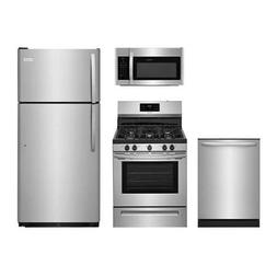 "Frigidaire 4-Piece Stainless Steel Package, FFTR1821TS 30"" T"