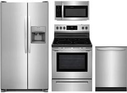 "Frigidaire 4-Piece Stainless Steel Package,FFSS2615TS 36"" Si"