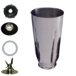 5 Cup Stainless Steel Complete Blender Jar fits Oster Blende