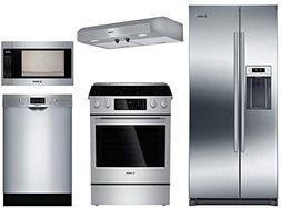 Bosch 5-Piece Stainless Steel Kitchen Package with B20CS30SN