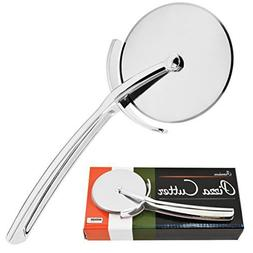 Limitless Chef Premium Stainless Steel Sharp Pizza Cutter Wh