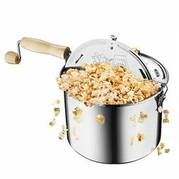 Great Northern Popcorn Original Stainless Stove Top 6 1/2 Qu
