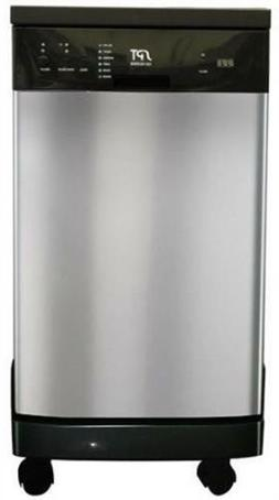 SUNPENTOWN SD-9241SS 18 in. Portable Dishwasher - Stainless