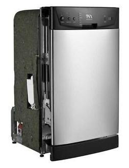 "SPT Sunpentown  18"" Energy Star Built-In Dishwasher - Stainl"