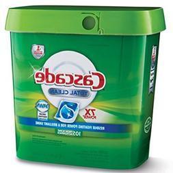 Cascade Total Clean Gel Dishwasher Detergent Pacs, Fresh Sce