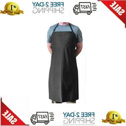Tuff Apron Black Heavy Duty Waterproof with Neck Adjuster Di