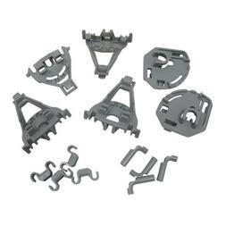 Unknown Neff Dishwasher Plastic Bearing Basket Clips Kit