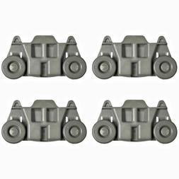 W10195416, WPW10195416 4 PACK Wheel Assembly for Whirlpool D