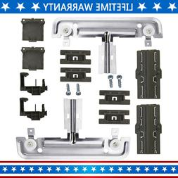 W10712395 Dishwasher Upper Rack Adjuster Metal Kit,Compatibl