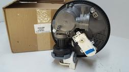 w11087376 dishwasher pump and motor new part