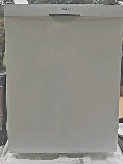 Bosch White 100 Series 24 Inch Tall Tub Dishwasher With Stai